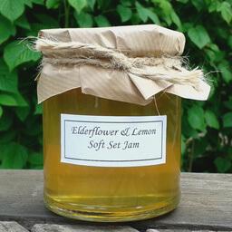 Elderflower And Lemon Jam