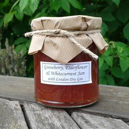 Gooseberry Elderflower And Whitecurrant Jam With Gin