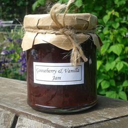 Gooseberry And Vanilla Jam
