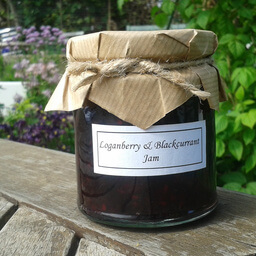 Loganberry And Blackcurrant Jam