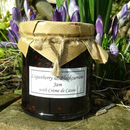 Loganberry And Blackcurrant Jam With Crème De Cassis