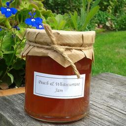 Peach And Whitecurrant Jam