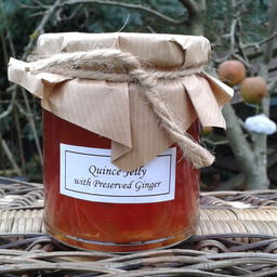Quince Jelly With Preserved Ginger