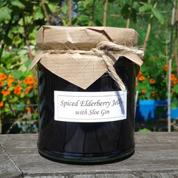 Spiced Elderberry Jelly With Sloe Gin
