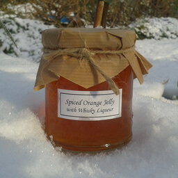 Spiced Orange Jelly With Whiskey Liqueur