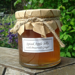 Apple Jelly With Preserved Ginger