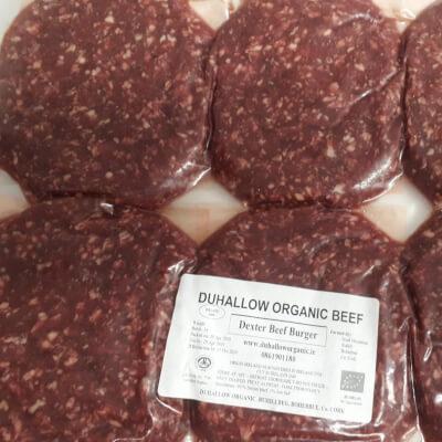 Organic Dexter Beef Burgers