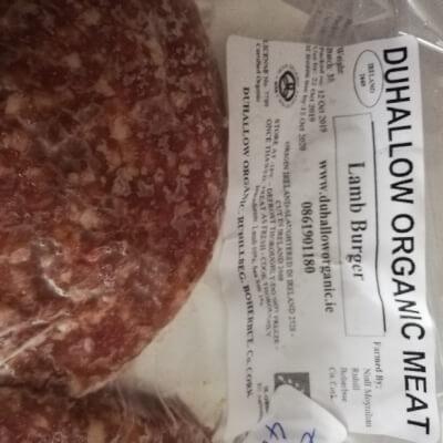 Organic Lamb Burgers