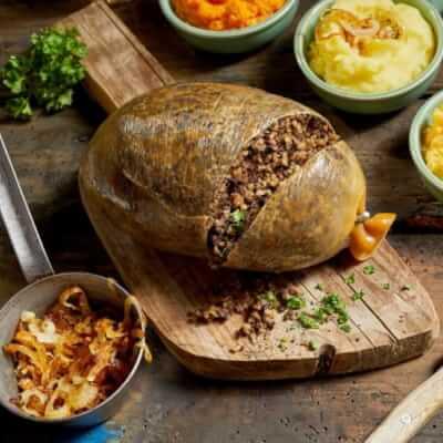 Haggis With Laverbread