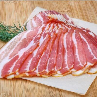 Dry Cured Old Spot Streaky Bacon