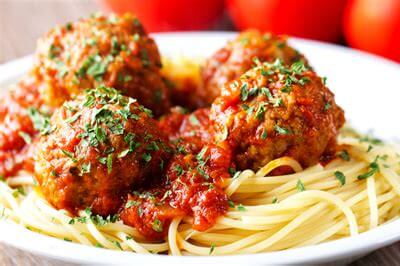 Pork Meat Balls With Cheesy Middles