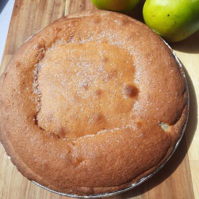 Apple Sponge Tart