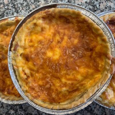 Quiche Cheese Ham And Onion