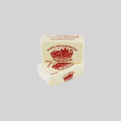 Maryland Butter Made By Barbers