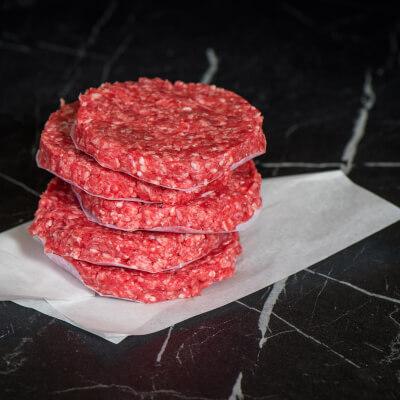 Handmade Irish Beef Burger (6Oz)