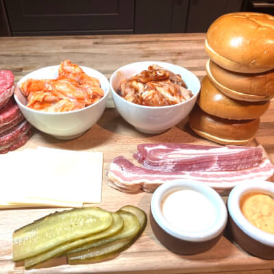Burger And Wings - Artisan Home Meal Kit (Feed 4)