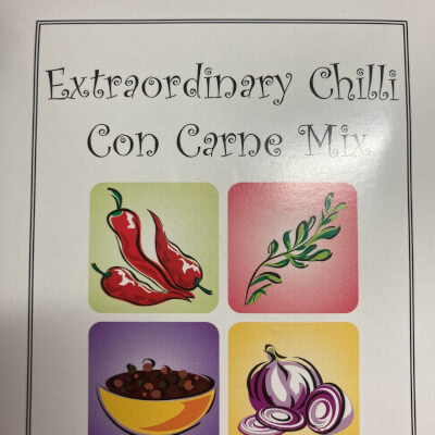 Extraordinary Chilli Con Carne Mix