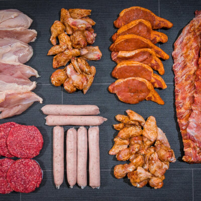 *May Special- Durcan's Irish Bbq Meat Box