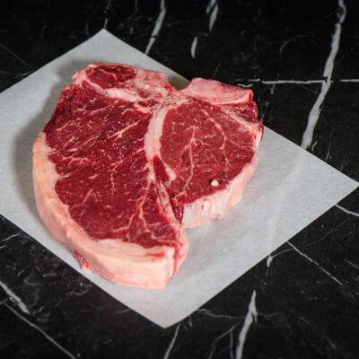 Tom Durcan's T-Bone Steak - Dry Aged For 28 Days