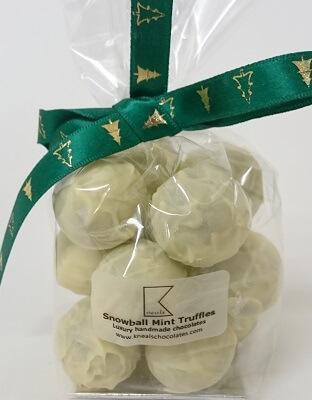 Snowball Mint Truffles