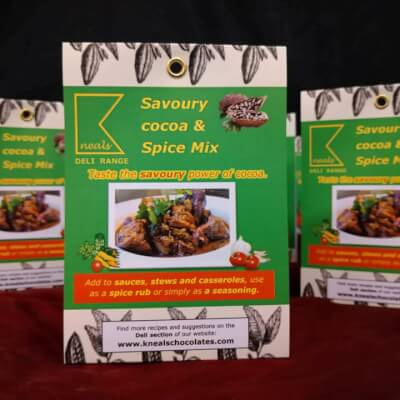Savoury Cocoa And Spice Mix