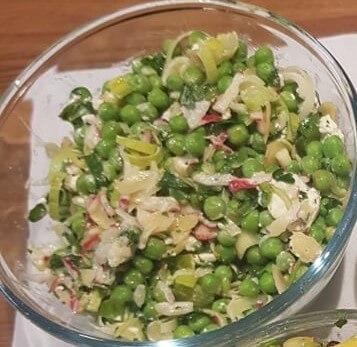 Peas &Feta&Mint Salad
