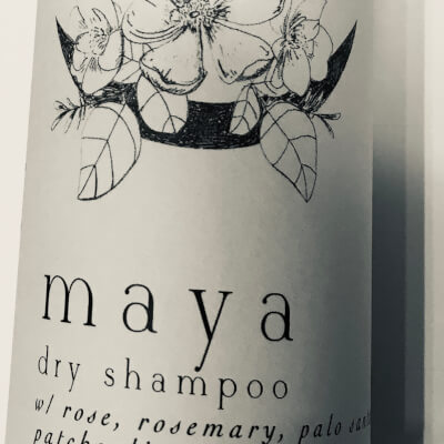 Warrior Botanicals Maya Dry Shampoo For Dark Hair