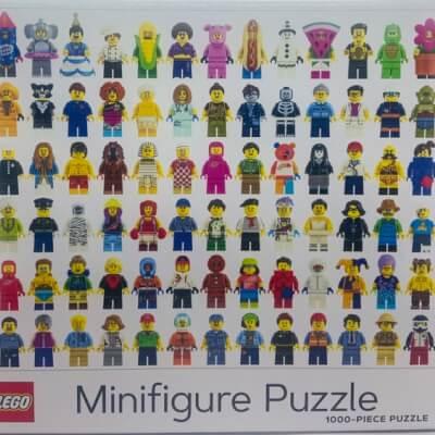 Lego Minifigures Puzzle