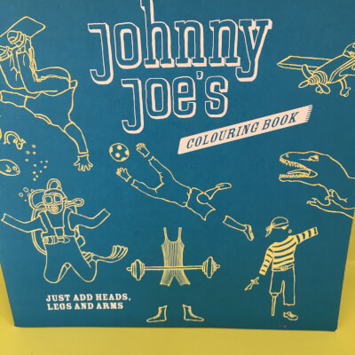 Rosie Flo'S Johnny Joe'S Colouring  Book