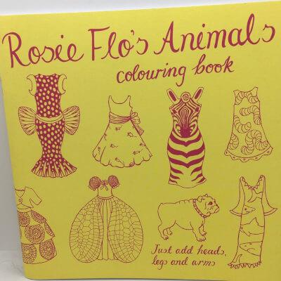 Rosie Flo'S Animal Colouring Book