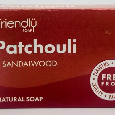 Friendly Soap Patchouli & Sandalwood