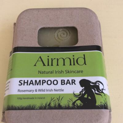 Airmid Nettle & Rosemary Shampoo Bar
