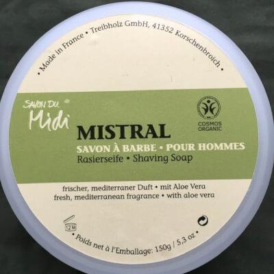 Savon Du Midi Mistral Shaving Soap