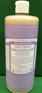 Dr. Bronner'S Pure Castile Soap.