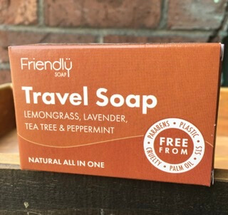 All In One Travel Soap