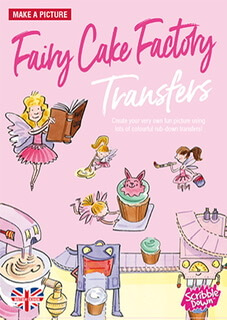 Scribble Down Transfer Fairy Cake Transfers