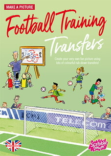 Scribble Down Transfer Football Training Book