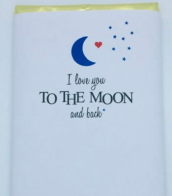 Valentine's Luxury Irish Made Chocolate (I Love You To The Moon And Back)