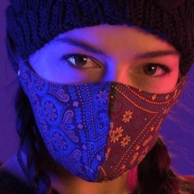 Adult Face Masks Denim