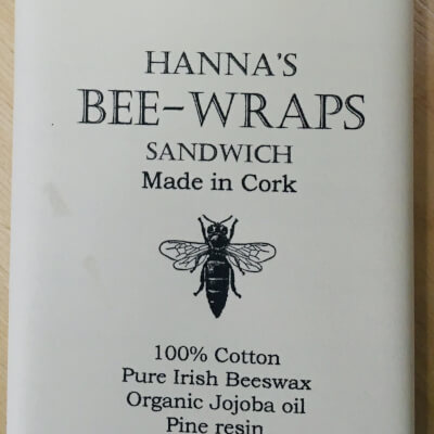 Hannah'S Beeswax Sandwich Wraps (Multicolored Flower Print)