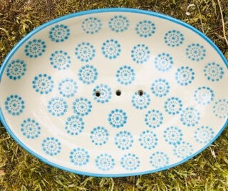 C Handmade Ceramic Soap Dish