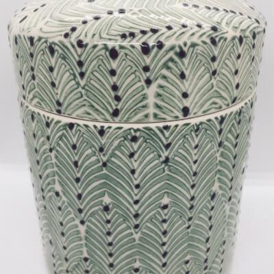 Ceramic Stoneware Container