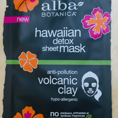 Alba Botanica Hawaiian Detox Sheet Mask