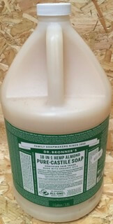 Dr. Bronner'S 1 Gallon Pure Castile Liquid Soap - Almond