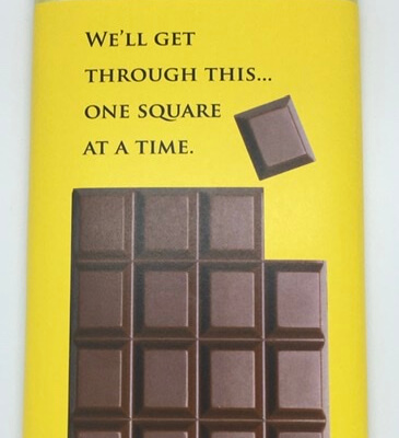 Luxury Irish Made Chocolate (We'll Get Through This... One Square At A Time)