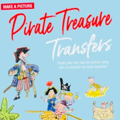 Scribble Down Transfer Pirate Book