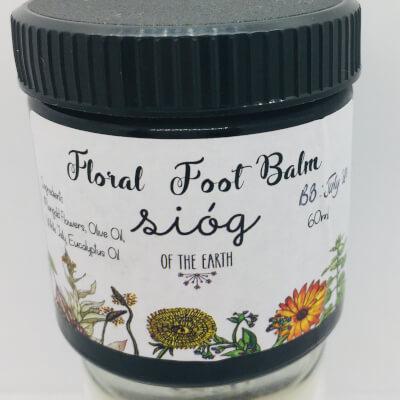 Sióg  Floral Foot Balm