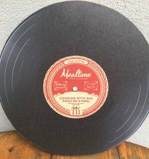 Vinyl Record Hot Plate