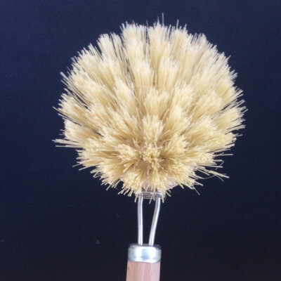 Natural Bristle Dishwashing Brush