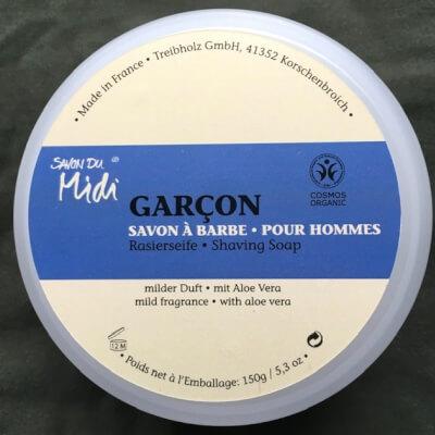 Savon Du Midi Garçon Shaving Soap
